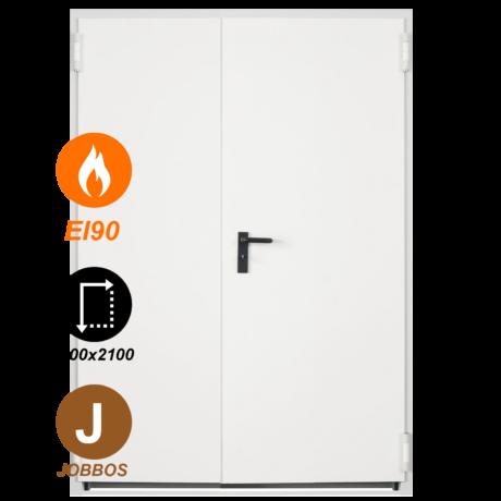NINZ Proget EI90 acél tűzgátló ajtó