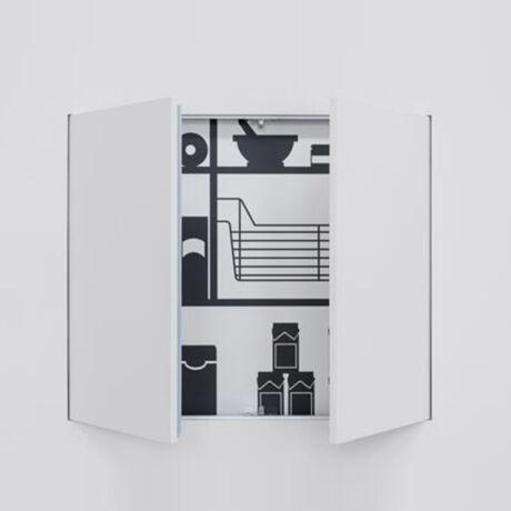 Eclisse Syntesis Tech kétszárnyú revíziós ajtó (strang ajtó)