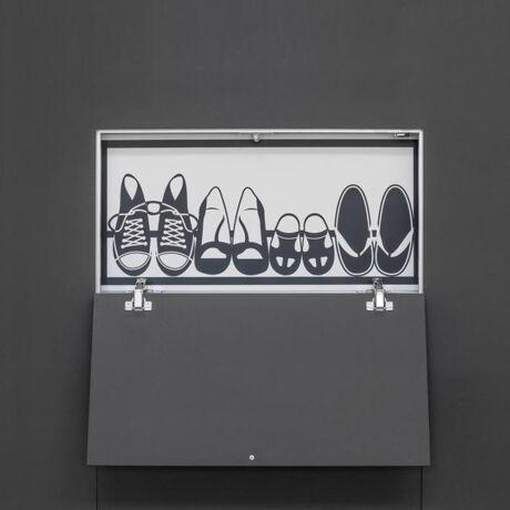Eclisse Syntesis Tech egyszárnyú revíziós ajtó (strang ajtó) lefelé nyíló
