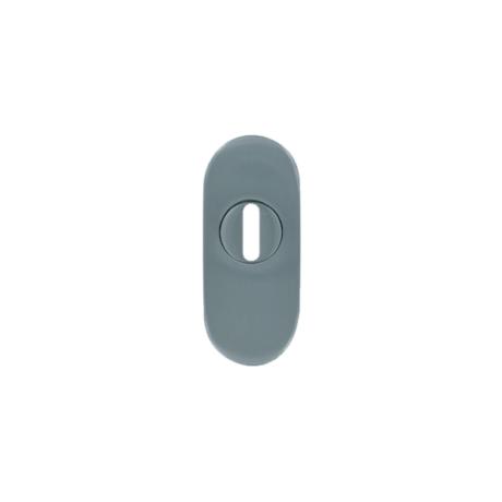 Maestro ovál biztonsági pajzs cilindervédős 30x70 mm, 15 mm magas