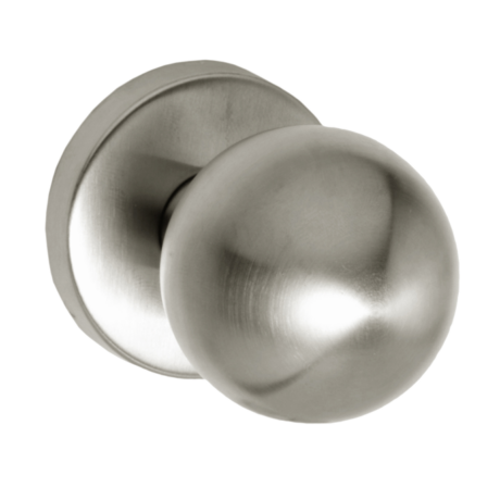 Maestro fix gomb rozettán gömb PZ inox