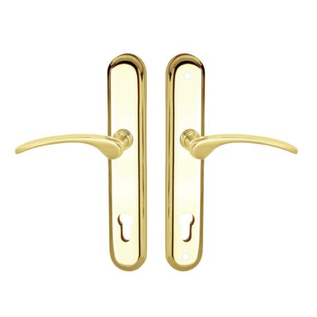 Maestro Sofia Universal biztonsági bejárati ajtó kilincsgarnitúra réz
