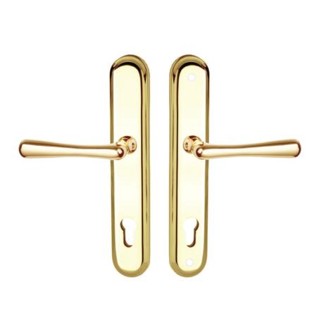 Maestro Stefania Universal biztonsági bejárati ajtó kilincsgarnitúra réz