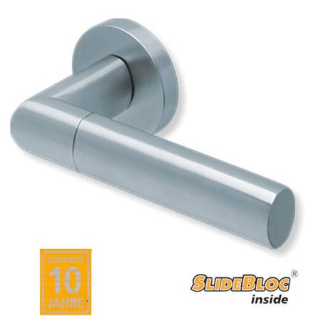 Scoop 1012 inox kilincsgarnitúra SlideBloc mechanikával