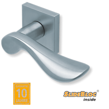 Scoop 1018 inox kilincsgarnitúra SlideBloc mechanikával