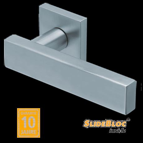 Scoop 1019 inox kilincsgarnitúra SlideBloc mechanikával