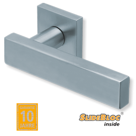 Scoop 1019 inox kilincsgarnitúra SlideBloc mechanikával