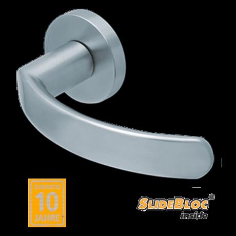 Scoop 1023 inox kilincsgarnitúra SlideBloc mechanikával