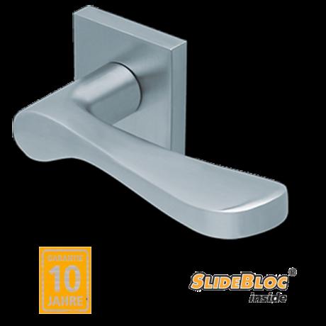 Scoop 1024 inox kilincsgarnitúra SlideBloc mechanikával