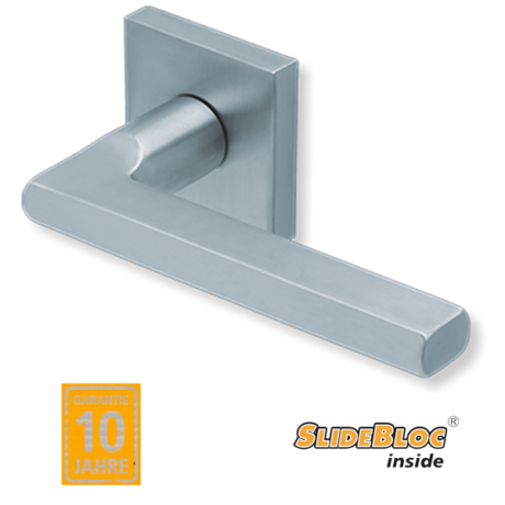 Scoop 1025 inox kilincsgarnitúra SlideBloc mechanikával