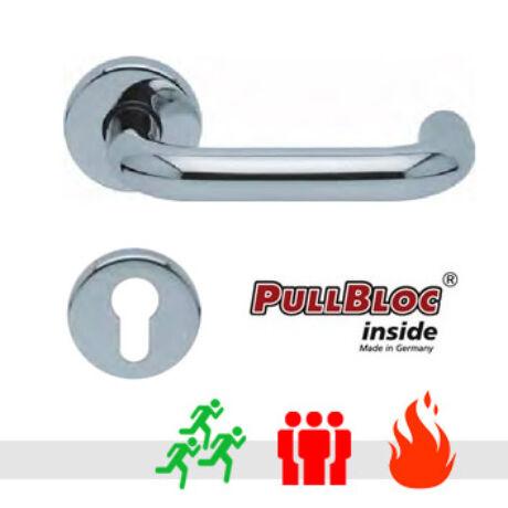 Scoop 1104 PullBloc tűzgátló pánik körrozettás kilincsgarnitúra