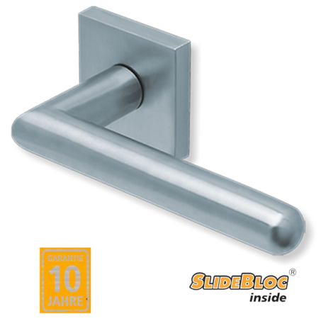 Scoop 1107 inox kilincsgarnitúra SlideBloc mechanikával