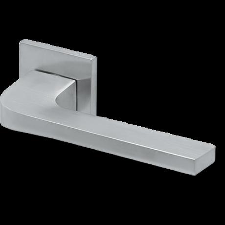Scoop formspiele 8044 matt króm négyzetrozettás kilincsgarnitúra