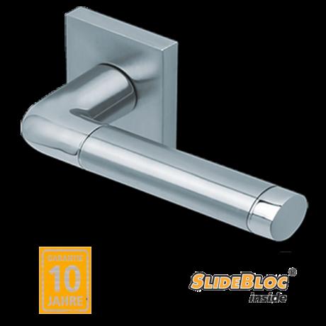 Scoop 1101 Duo inox kilincsgarnitúra SlideBloc mechanikával