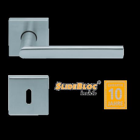 Scoop 1108 Jade inox kilincsgarnitúra SlideBloc mechanikával