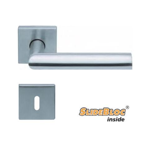 Scoop Jade 1108-09 SB rozsdamentes acél négyzetrozettás kilincsgarnitúra