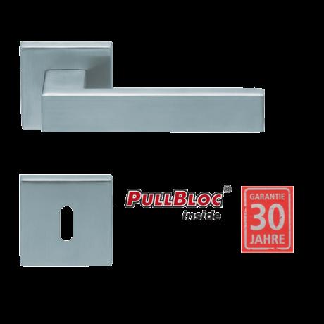 Scoop 1005 Quadra inox kilincsgarnitúra SlideBloc mechanikával