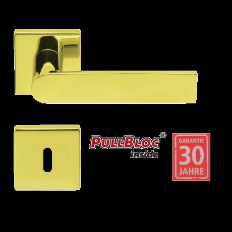 Scoop 1008 Semi fényes réz kilincsgarnitúra SlideBloc mechanikával