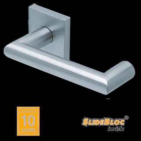 Scoop 1009 Thema U inox kilincsgarnitúra SlideBloc mechanikával