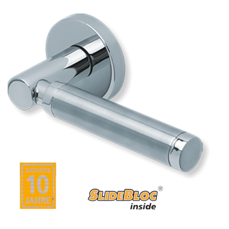 Scoop 1013 Ultimo polírozott inox kilincsgarnitúra SlideBloc mechanikával