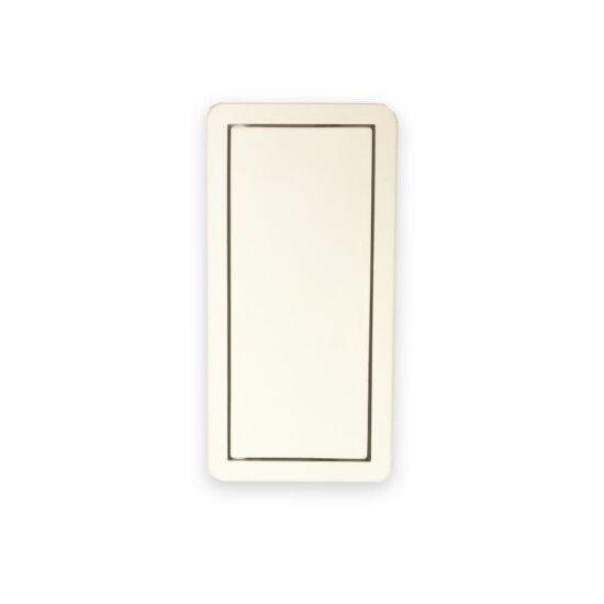 Kamex Cosma fogantyú fehér 6x12 cm 11.504