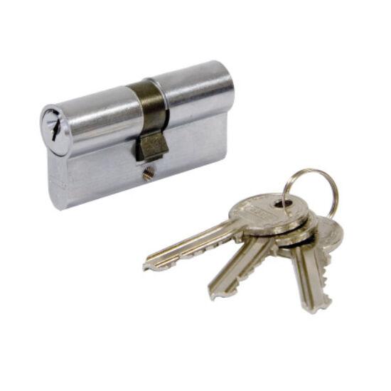 Zárbetét, cilinderbetét 30/35 nikkelezett 3 kulcsos