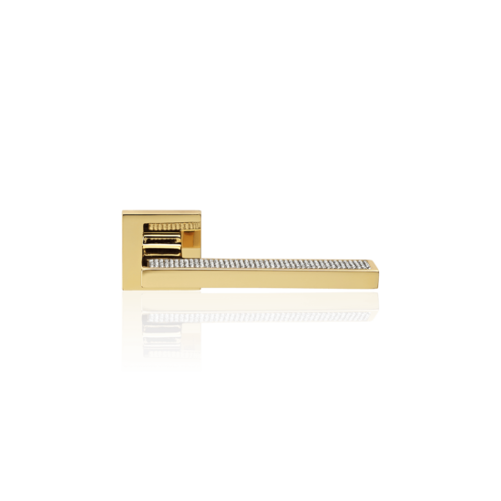 Linea Cali Sintesi Mesh aranyozott kilincsgarnitúra
