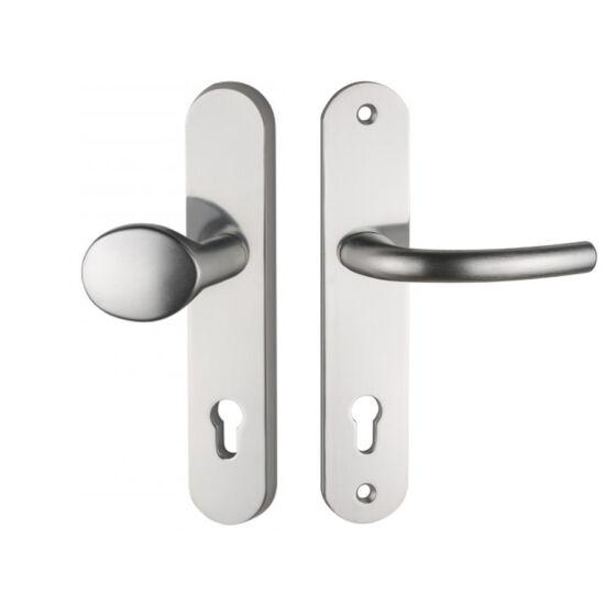 Maestro Arno alu biztonsági bejárati ajtó gomb-kilincsgarnitúra