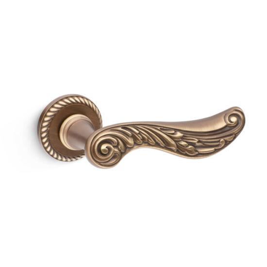 Mandelli Sixty matt bronz körrozettás kilincsgarnitúra