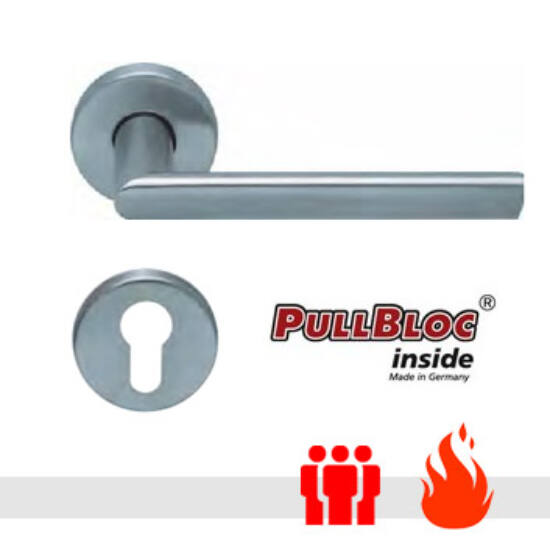 Scoop 1109 PullBloc tűzgátló körrozettás kilincsgarnitúra