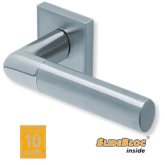 Scoop 1212 inox kilincsgarnitúra SlideBloc mechanikával