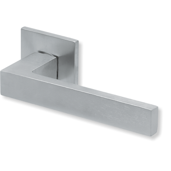 Scoop formspiele 8040 matt króm négyzetrozettás kilincsgarnitúra