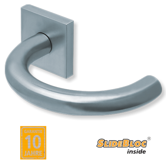 Scoop 1070 Baloo inox kilincsgarnitúra SlideBloc mechanikával