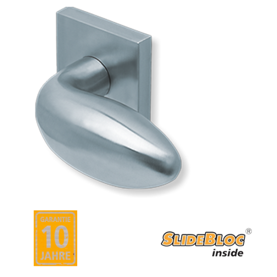 Scoop 1066 Boby inox kilincsgarnitúra SlideBloc mechanikával