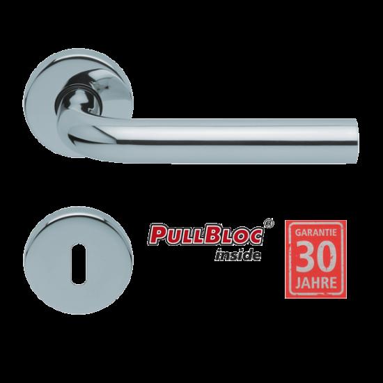 Scoop 1100 Image polírozott inox kilincsgarnitúra PullBloc mechanikával