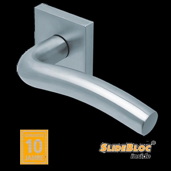 Scoop 1102 Wave inox kilincsgarnitúra SlideBloc mechanikával