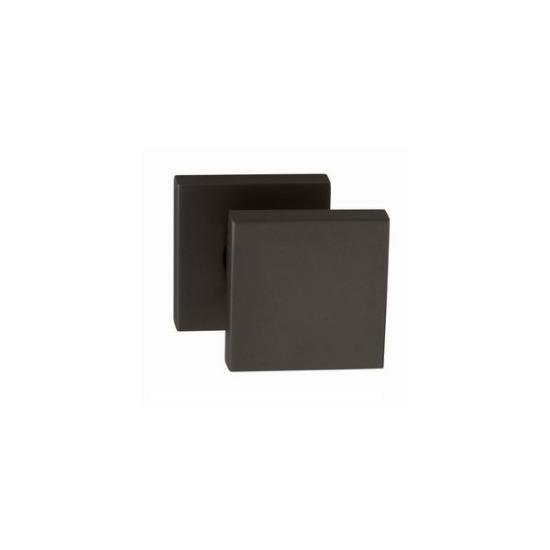 Tupai Madlo fekete négyzetrozettás eltolt gomb kilincsgarnitúra